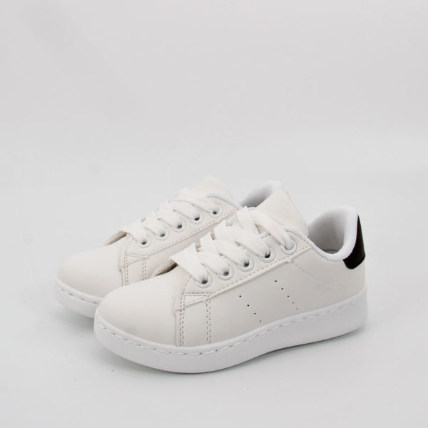 afb397ce0ed Sneakers Παιδικά Λευκό Μαύρο | www.eshoes.gr