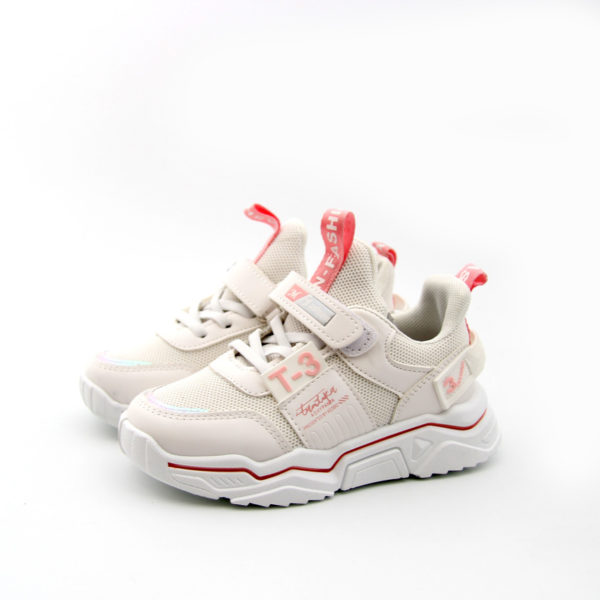 Sneakers παιδικά λευκά